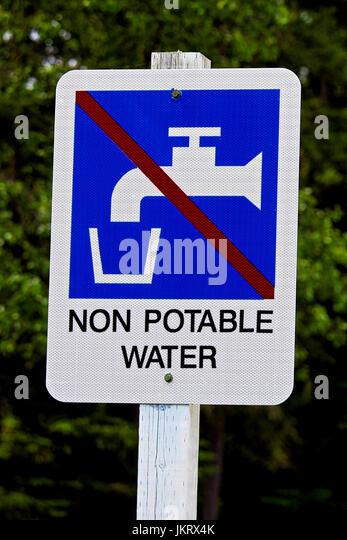 how to make non potable water potable
