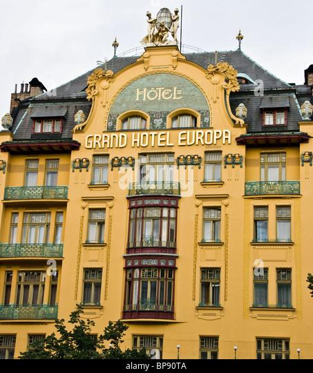 Bedrich bendelmayer stock photos bedrich bendelmayer for Europe hotel prague