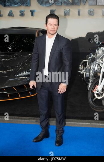 Mark Wahlberg attends the Global Premiere of TRANSFORMERS: The last Knight. London, UK. 18/06/2017 | usage worldwide - Stock Image