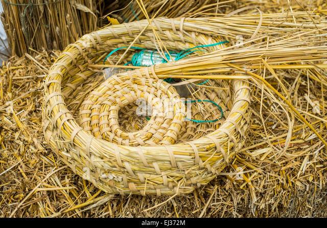 Basket Weaving London : London uk th march stock photos