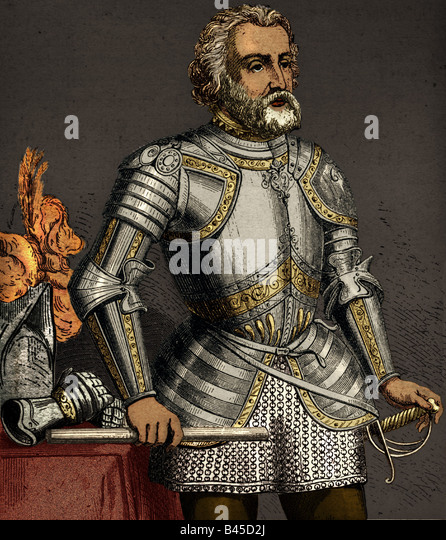 the spanish conquistadors hernan cortez Hernan cortes was an explorer who eventually defeated the aztec people and   with the conquest of the land, king charles v of spain named cortes the.
