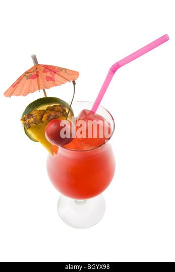 mai tai cocktail with umbrella - photo #11