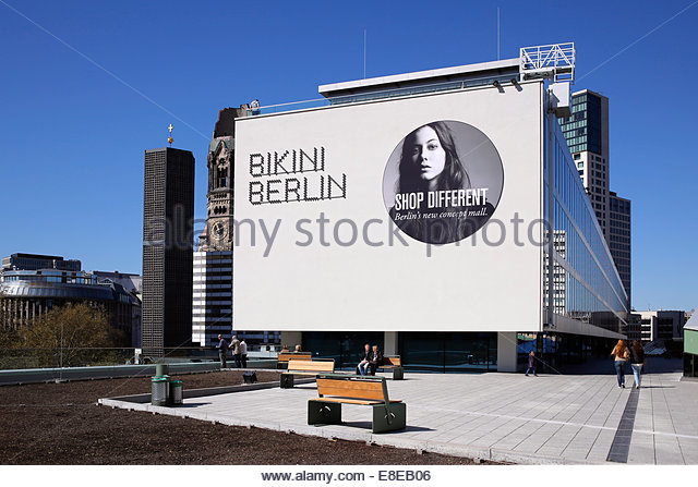 Berlin germany the bikini house as a shopping mall in budapest