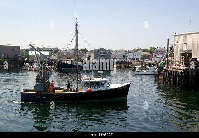 Gloucester fishing boat stock photos gloucester fishing for Mass commercial fishing