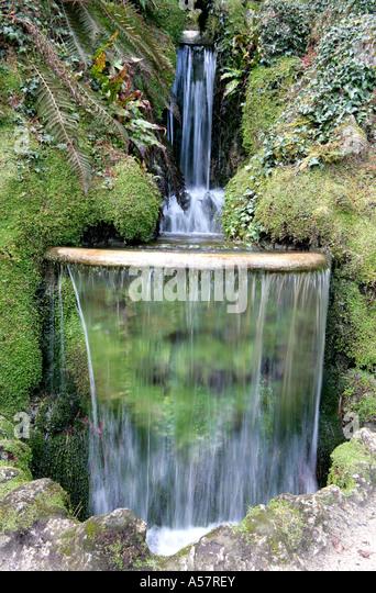 Japanese gardens powerscourt stock photos japanese for Japanese garden features