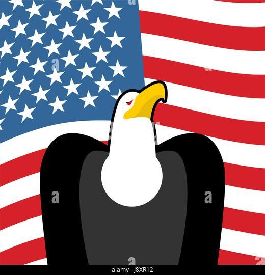 American Symbols Bald Eagle Flag Stock Photos American Symbols