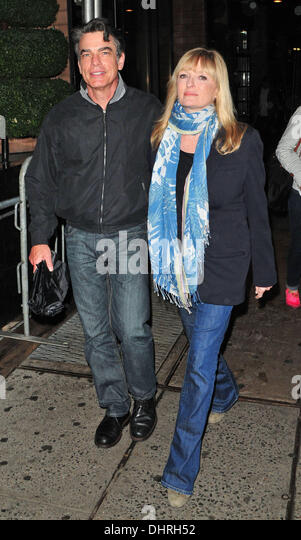 peter gallagher wife paula harwood stock photos amp peter