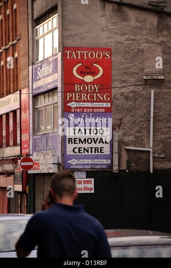 Tattoo removal stock photos tattoo removal stock images for Street sign tattoos