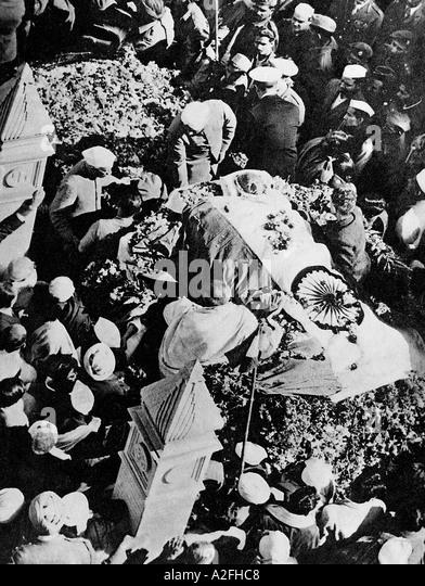 mahatma gandhis death The mahatma's political and spiritual hold on india was so great that the  gandhi's death was regarded as an  kamat's potpourri mahatma gandhi.