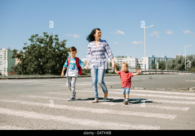Image result for school children using the road