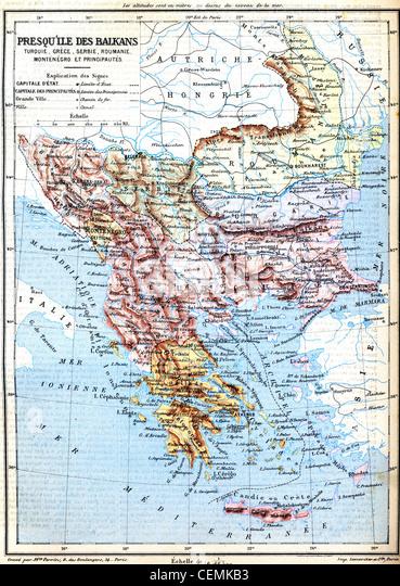 Ancient Greece Map Stock Photos  Ancient Greece Map Stock Images