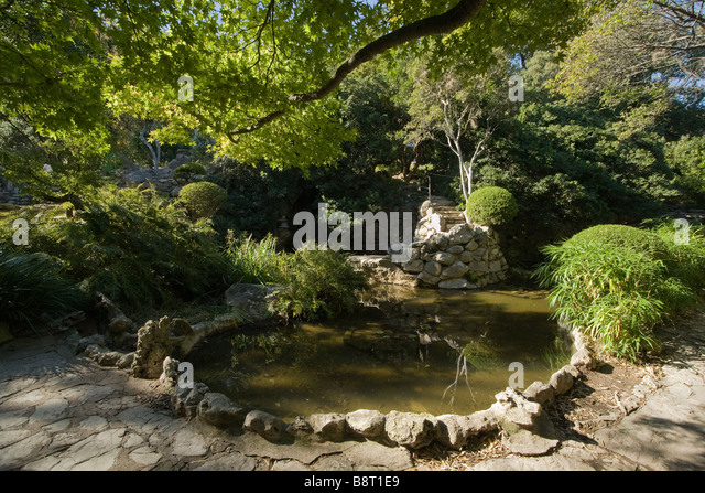 Attractive Austin, Texas   Taniguchi Japanese Garden In The Zilker Park Botanical  Gardens   Stock Image