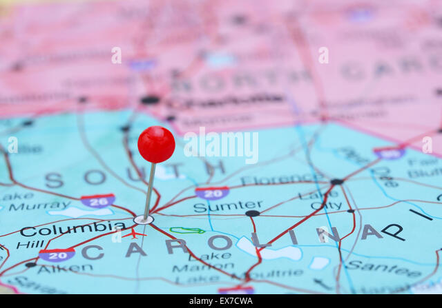 South America Map Columbia Stock Photos South America Map - Columbia in usa map