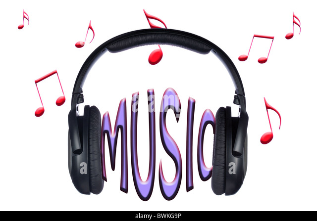 Headphones Music Notes: Music Notes Stock Photos & Music Notes Stock Images