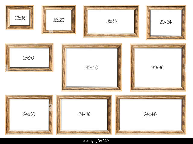 Multiple frames stock photos multiple frames stock for Most common window size
