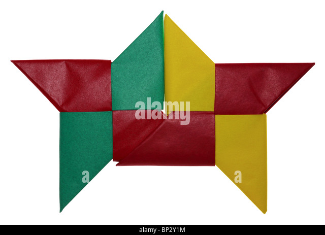 Ninja Star Cut Out Stock Images Pictures Alamy
