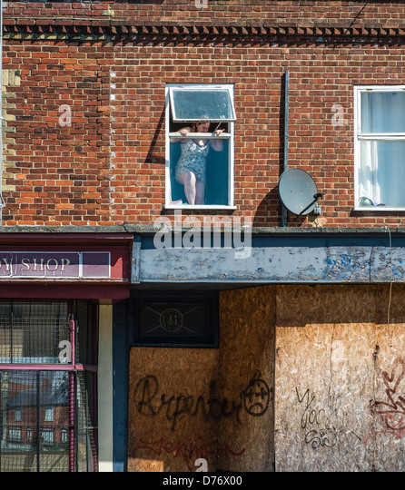 Abandoned Buildings Newcastle Uk: Social Decay Stock Photos & Social Decay Stock Images