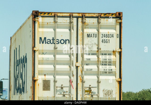 Matson stock photos matson stock images alamy - Matson container homes ...