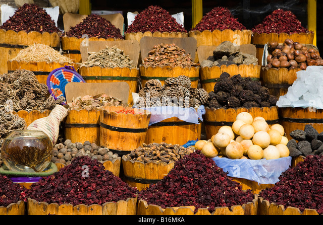 Shop selling herbs spices in stock photos shop selling for Almadina egyptian cuisine