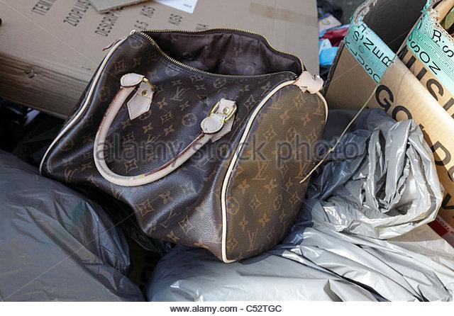 Louis Vuitton Garbage Bag louis vuitton handbag stock photos & louis vuitton handbag stock