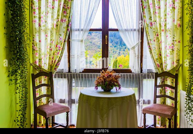 Asturias balcony stock photos asturias balcony stock - Casa pedro santa eulalia de oscos ...