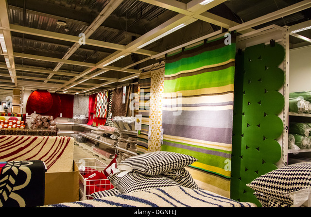 Inside The Ikea Store In Burbank Califorinia   Stock Image