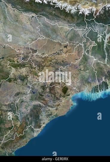 Odisha Map Stock Photos  Odisha Map Stock Images  Alamy