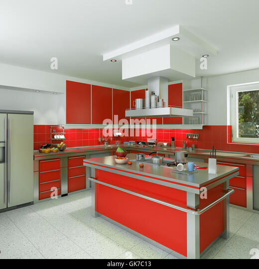 Stainless Rack Kitchen Cabinet Stock Photos Stainless Rack