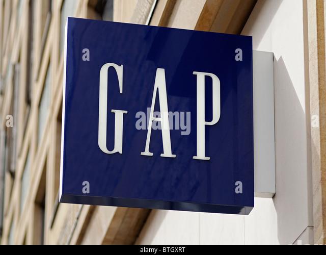 Gap Logo Stock Photos & Gap Logo Stock Images - Alamy