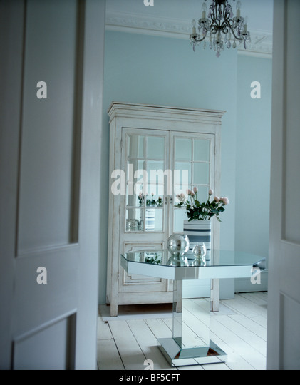 Interiors Traditional Dining Rooms Cupboards Stock Photos