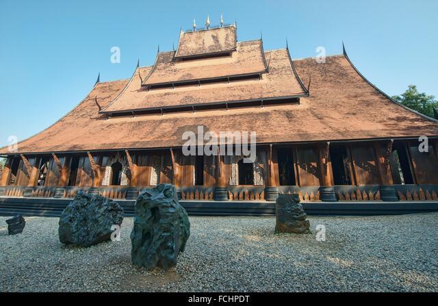 Black House Chiang Rai Stock Photos & Black House Chiang Rai Stock Images...
