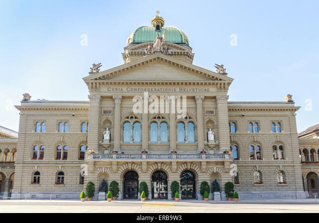 Federal Palace Of Switzerland Inside