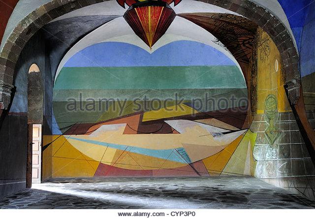 David alfaro siqueiros stock photos david alfaro for David alfaro siqueiros mural tropical america