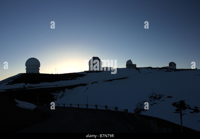 Mauna Kea Sunrise Hawaii Stock Photos & Mauna Kea Sunrise ...
