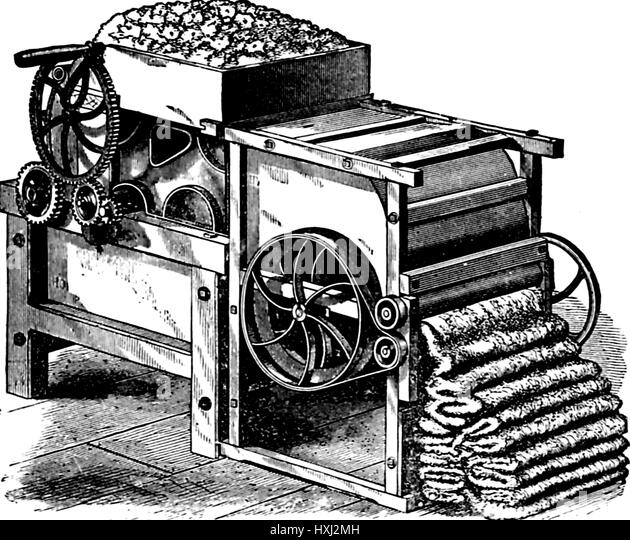 development of the mechanized cotton industry Light industry such as the cotton industry advanced these two processes and  as a premise of the development of the great mechanized industry, but as .