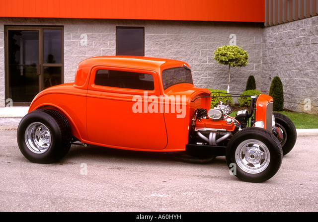 Coupe hot rod stock photos coupe hot rod stock images for 1932 ford 3 window coupe hot rod