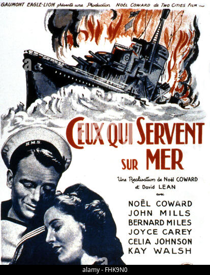 ceux-qui-servent-en-mer-in-wich-we-serve-1942-ral-david-lean-noel-fhk9n0.jpg (413×540)