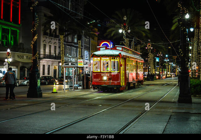 ... Christmas decorations makes for a festive ambiance in New Orleans, LA