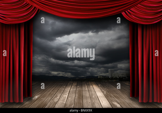 red curtains theatre - photo #35