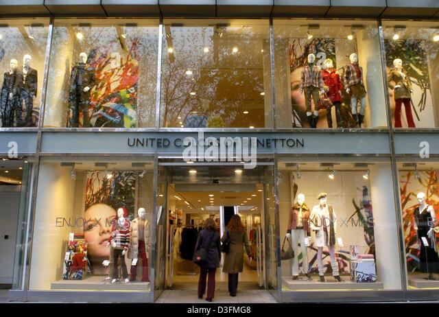 Benetton shop stock photos benetton shop stock images for United colors of benetton online shop outlet