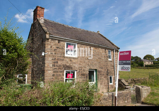 A Cottage For Sale By Auction In Derbyshire England UK