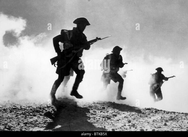 the battle of el alamein as a critical point of world war two Pursue two operational objectives simultaneously critical point to gain surprise, shock during the first battle of el alamein.