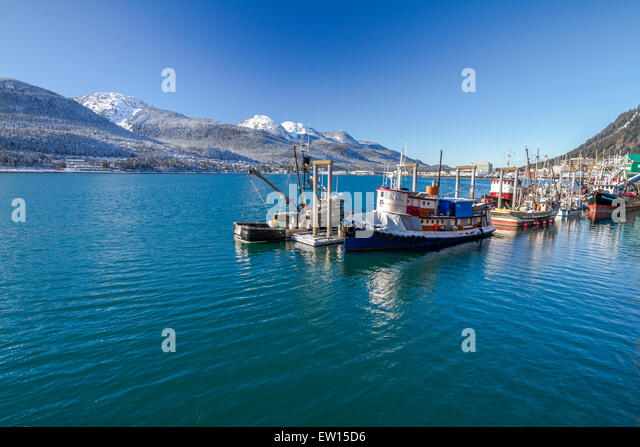 Douglas island juneau stock photos douglas island juneau for Juneau alaska fishing