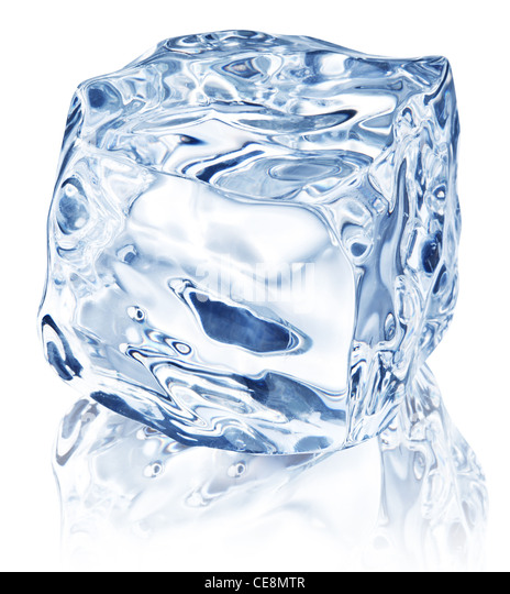 how to cut ice cubes