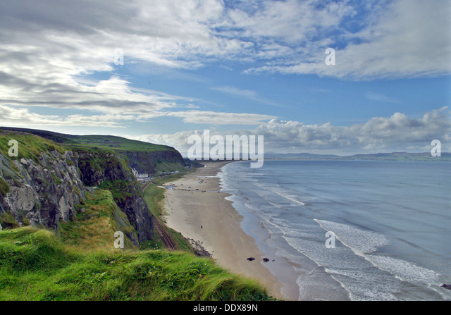 Benone Beach Stock Image