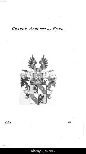 Alberti von Enno   Tyroff AT - Stock Image