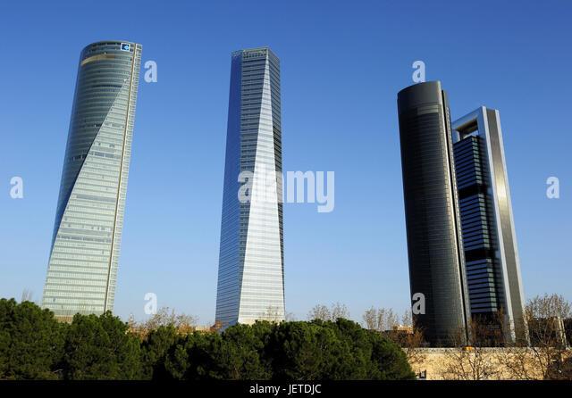 spain madrid torre espacio torre de cristal torre sacyr torre