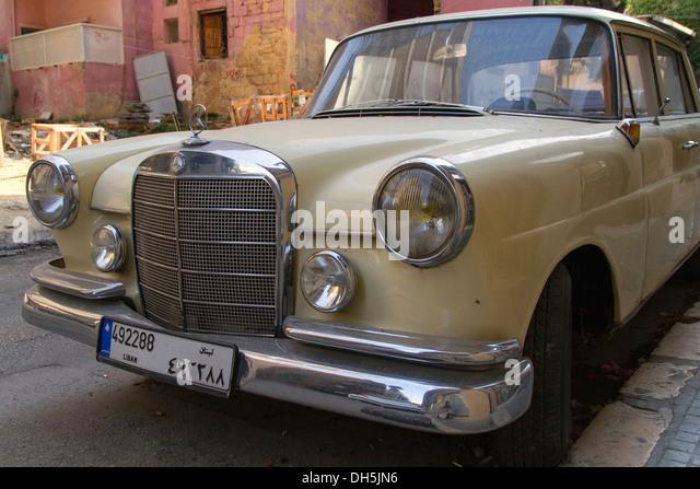Arabian number plate stock photos arabian number plate for Mercedes benz lebanon