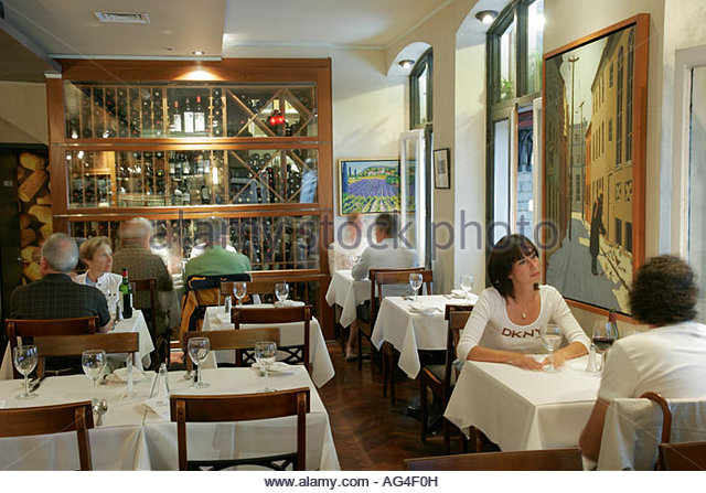 Cafes in quebec stock photos