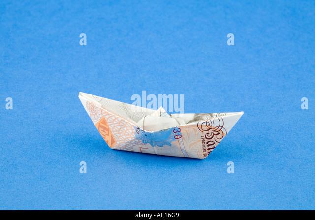 pound note folded stock photos amp pound note folded stock